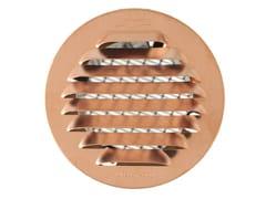Griglia di ventilazione tonda in rame da incassoGTRP80R - FIRST CORPORATION