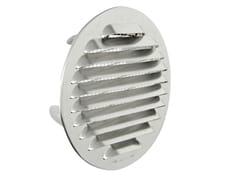 Griglia di ventilazione tonda in alluminio da incassoGTSA100R - FIRST CORPORATION