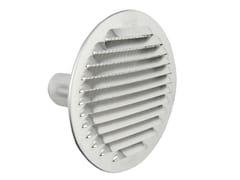 Griglia di ventilazione tonda in alluminio da incassoGTSA125R - FIRST CORPORATION