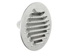 Griglia di ventilazione tonda in alluminio da incassoGTSA80R - FIRST CORPORATION
