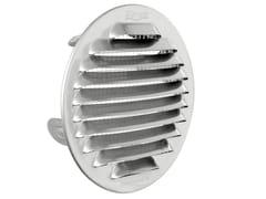 Griglia di ventilazione tonda in acciaio Inox da incassoGTSI100R - FIRST CORPORATION