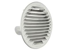 Griglia di ventilazione tonda in acciaio Inox da incassoGTSI125R - FIRST CORPORATION