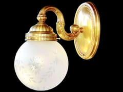 Lampada da parete a luce diretta fatta a mano in ottone GYOR I | Lampada da parete - Gyor