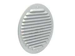 Griglia di ventilazione tonda in metallo AluzinkGZKT160R - FIRST CORPORATION
