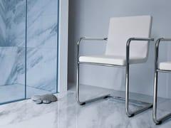 Sedia a slitta in stile moderno con braccioliH5 L | Sedia a slitta - MIDJ