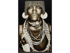 Quadro in poliestereHAMAR WOMAN ETHIOPIA - MONDIART INTERNATIONAL