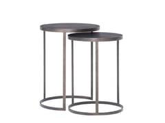 Tavolino alto rotondo in legnoHAMMER - TONIN CASA