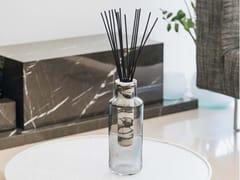 Vaso / profumatore d'ambiente in marmo e vetro soffiatoHANDLE GLASS CALACATTA VIOLA - TCC WHITESTONE