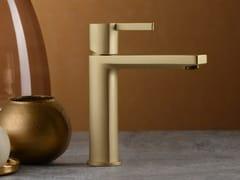 Miscelatore per lavabo da piano monocomandoHAPTIC FROSTED CHAMPAGNE - RUBINETTERIE RITMONIO