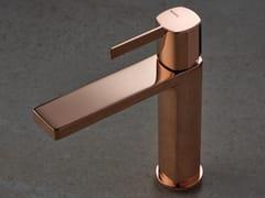 Miscelatore per lavabo da piano monocomandoHAPTIC ROSE GOLD - RUBINETTERIE RITMONIO