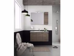 Mobile lavabo sospeso con ante HARLEM H19 - Urban
