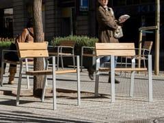 Seduta da esterni in legnoHARPO | Seduta da esterni in legno - URBIDERMIS