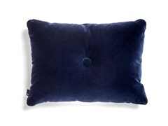 Cuscino a tinta unita rettangolare in vellutoHAY - DOT SOFT NAVY - ARCHIPRODUCTS.COM