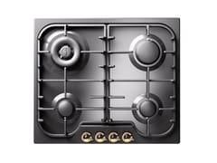 Piano cottura a gas da incasso in acciaio inoxHCB60CN | Piano cottura - ILVE