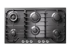 Piano cottura a gas da incasso in acciaio inoxHCB906CN | Piano cottura - ILVE