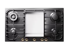 Piano cottura a gas da incasso in acciaio inoxHCB90FCN | Piano cottura - ILVE