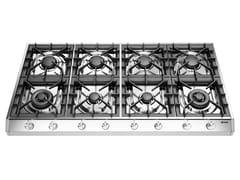 Piano cottura a gas in acciaio inoxHCP12658D | Piano cottura - ILVE
