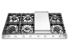 Piano cottura a gas in acciaio inoxHCP1265FD | Piano cottura - ILVE