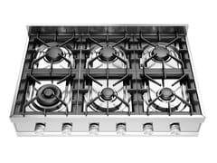 Piano cottura a gas in acciaio inoxHCP906D | Piano cottura - ILVE