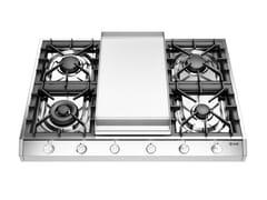 Piano cottura a gas in acciaio inoxHCP965FD | Piano cottura - ILVE
