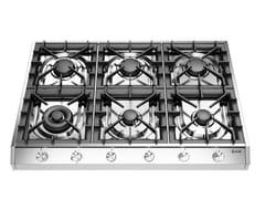 Piano cottura a gas in acciaio inoxHCP9656D | Piano cottura - ILVE