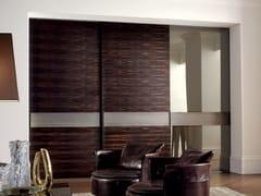 Longhi, HEADLINE | Porta in legno e vetro  Porta in legno e vetro