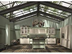 Cucina in legno con maniglie HERA | Cucina - SISTEMA