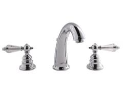 Rubinetto per lavabo a 3 fori da piano HEREND CHIC F5421C | Rubinetto per lavabo - Herend Chic