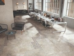 Pavimento/rivestimento in gres porcellanato effetto pietraHERITAGE BEIGE - VIVA BY EMILGROUP