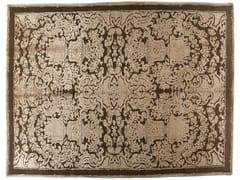 Tappeto fatto a mano rettangolare in lana e seta HERMITAGE - Memories