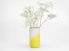 Vaso in ceramicaHERRINGBONE VASE RIBBED - VITRA