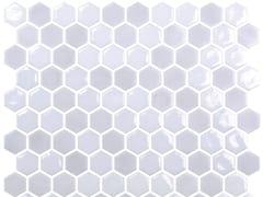 Mosaico in vetro per interni ed esterniHEX BLEND CLOUD - ONIX CERÁMICA