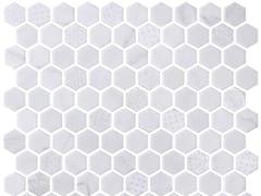 Mosaico in vetro per interni ed esterniHEX BLEND COTTON - ONIX CERÁMICA