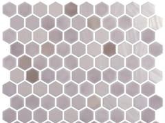 Mosaico in vetro per interni ed esterniHEX BLEND DUN - ONIX CERÁMICA