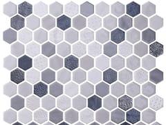 Mosaico in vetro per interni ed esterniHEX BLEND SHADOW - ONIX CERÁMICA