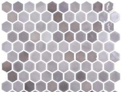 Mosaico in vetro per interni ed esterniHEX BLEND TAUPE - ONIX CERÁMICA