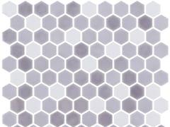 Mosaico in vetro per interni ed esterniHEX STONEBLEND ANCHOR - ONIX CERÁMICA