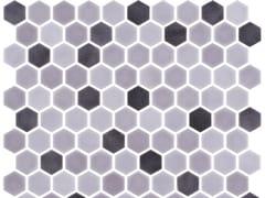 Mosaico in vetro per interni ed esterniHEX STONEBLEND SMOKE - ONIX CERÁMICA