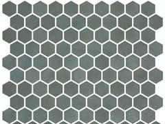 Mosaico in vetro per interni ed esterniHEX STONEGLASS GREEN - ONIX CERÁMICA