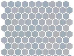 Mosaico in vetro per interni ed esterniHEX STONEGLASS LIGHT BLUE - ONIX CERÁMICA