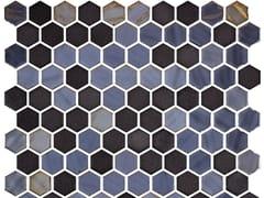 Mosaico in vetro per interni ed esterniHEX STONEGLASS OPALO BLACK - ONIX CERÁMICA