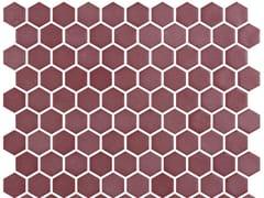 Mosaico in vetro per interni ed esterniHEX STONEGLASS RUSSET - ONIX CERÁMICA