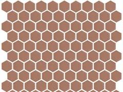 Mosaico in vetro per interni ed esterniHEX STONEGLASS TANGERINE - ONIX CERÁMICA