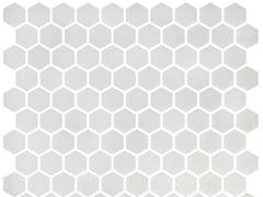 Mosaico in vetro per interni ed esterniHEX STONEGLASS WHITE - ONIX CERÁMICA