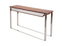 Consolle rettangolare in legno con ripianiHEY HELLO | Consolle - SOFTICATED