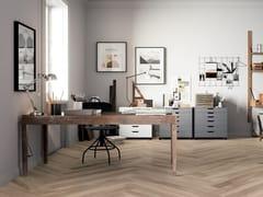 Pavimento in gres porcellanato effetto legnoHICKORY BLOND - CERAMICA FONDOVALLE