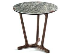 Tavolino alto rotondo in gres porcellanatoARJA | Tavolino alto - FRIGERIO POLTRONE E DIVANI