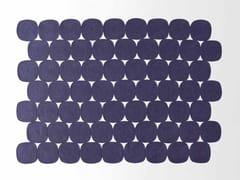 Tappeto rettangolare in corda a motivi geometrici ZOE | Tappeto rettangolare - High Tech