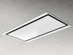 Cappa a soffitto in vetro con illuminazione integrataHILIGHT W - ELICA