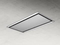 Cappa a soffitto in acciaio inox con aspirazione perimetraleHILIGHT X - ELICA